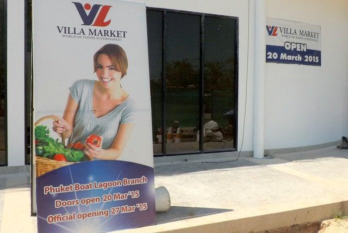 Villa Market opens Boat Lagoon branch | The Thaiger
