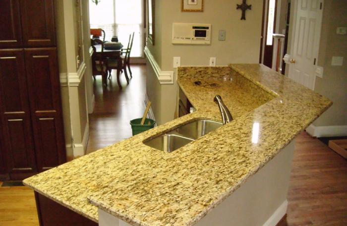 Properly maintaining granite counter tops | The Thaiger
