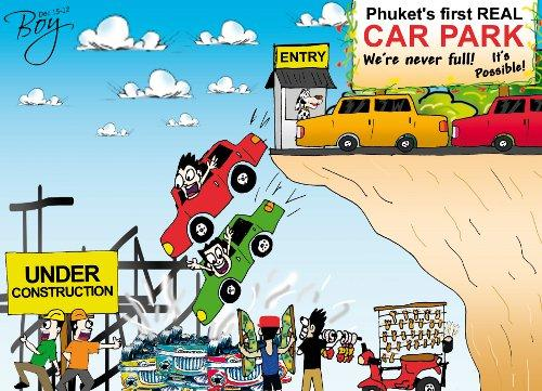 """Phuket Opinion: Parking management not """"The Impossible'   Thaiger"""