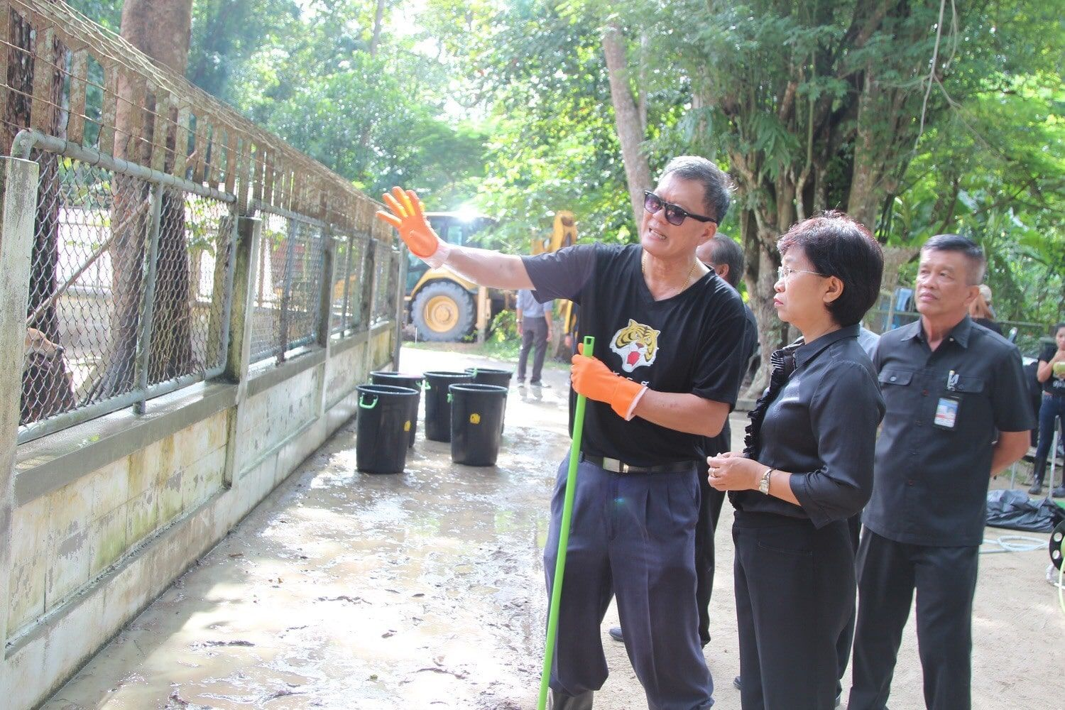 Phuket's main soi dog shelter in Thalang gets a make-over | The Thaiger