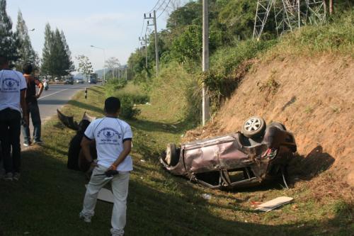 No one seriously injured in Children's Day car crash   Thaiger