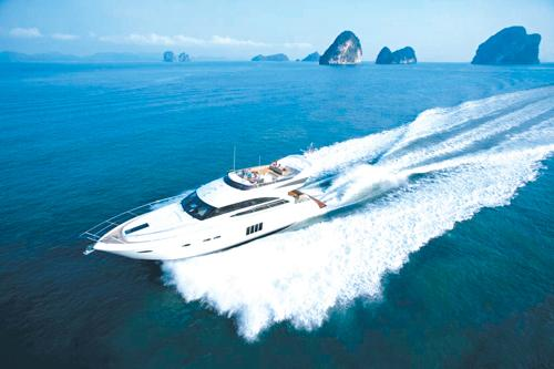 Princess Yachts prepare for Phuket's international boat show | The Thaiger
