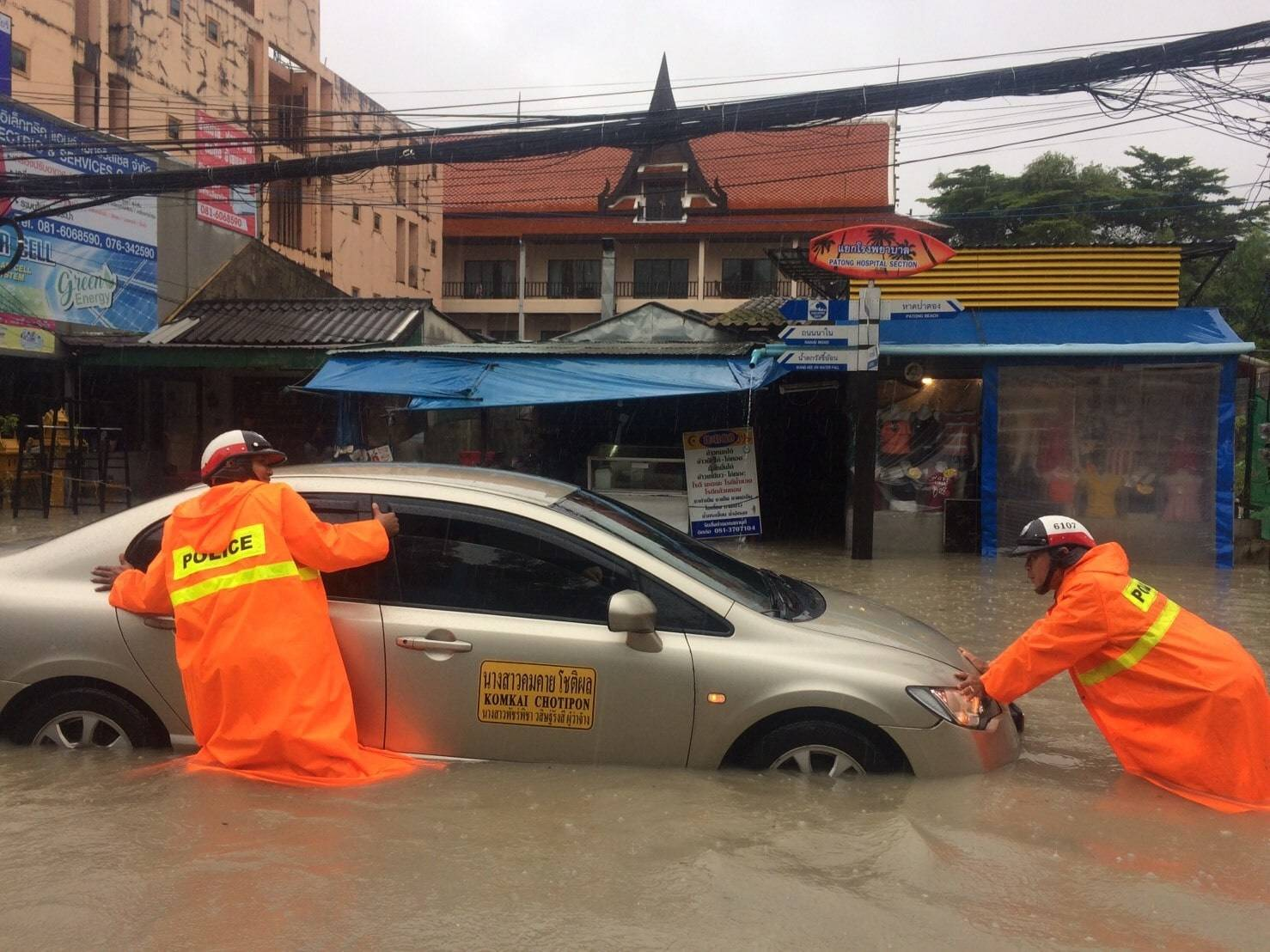 Patong and Rawai worst hit from floods | The Thaiger