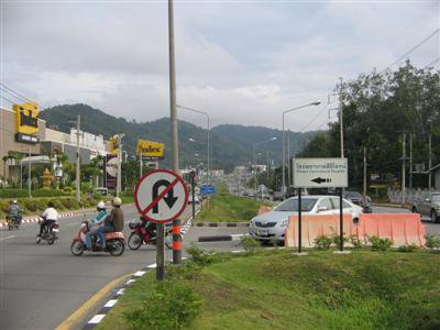 Committee reverses decision on bypass U-turn | The Thaiger