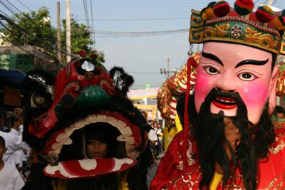 Big turnout for Samkong Shrine procession | The Thaiger
