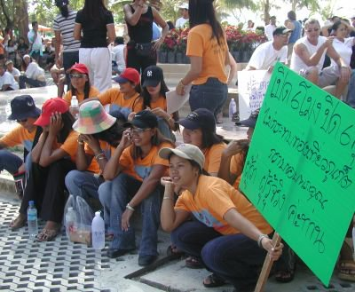 Night venues set for mass protest | The Thaiger