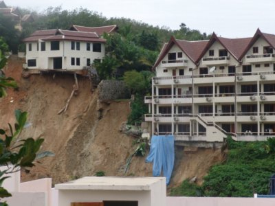 Landslide in Patong | The Thaiger