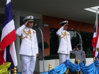 New Naval commander installed   Thaiger