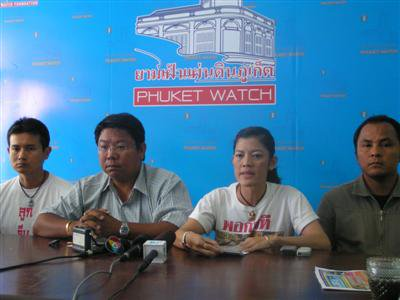 Phuket PAD mobilizes to join Bangkok protest | The Thaiger