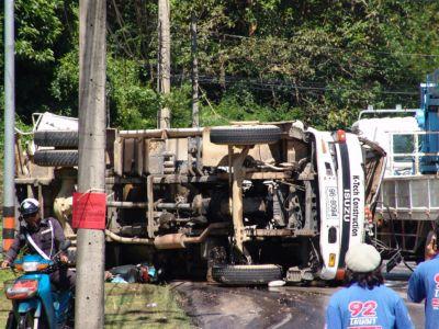 Fatal crash on Kata Hill | Thaiger