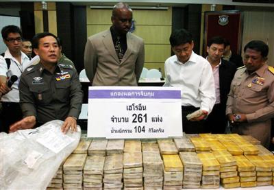 Two arrested in Phuket heroin mega-bust | The Thaiger