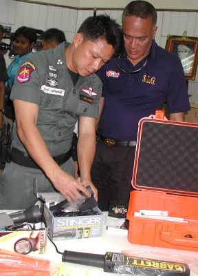 US donates anti-terror gear | The Thaiger