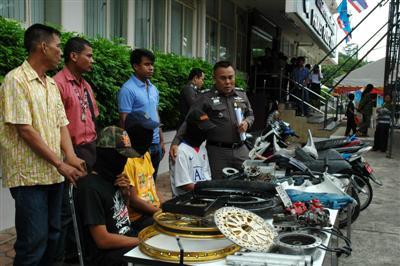 Police nab bike thieving teens | The Thaiger