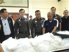 192 kilos of illicit drug ingredients seized | The Thaiger