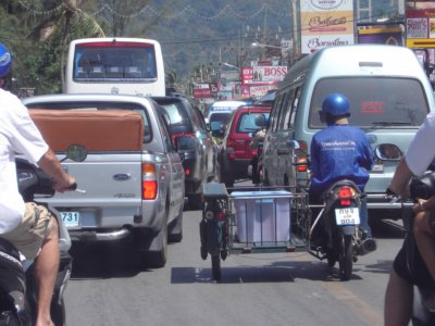 Traffic jams mar Patong one-way system launch   The Thaiger