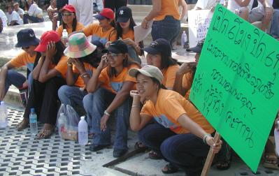 Patong protests early closings | The Thaiger