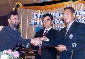 Phuket and Andamans sign memorandum | The Thaiger
