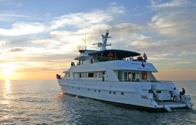 Luxury yacht grounded after taking on water | The Thaiger