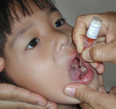 Free vaccine in anti-polio campaign | The Thaiger
