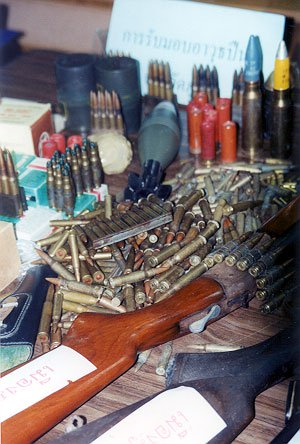 Illegal firearms amnesty ends | The Thaiger