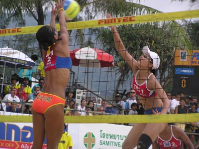 Japan wins international beach volleyball tourney | The Thaiger