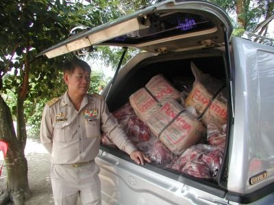 Buffalo meat smugglers thwarted | The Thaiger