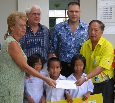 German town donates B1m to Kalim School | The Thaiger