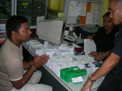 More than 5,000 fake credit cards seized | The Thaiger