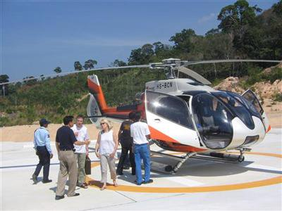 Luxury charter helicopter service launched in Sakoo | The Thaiger