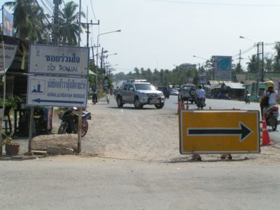 Holdout halts Rawai road project | The Thaiger