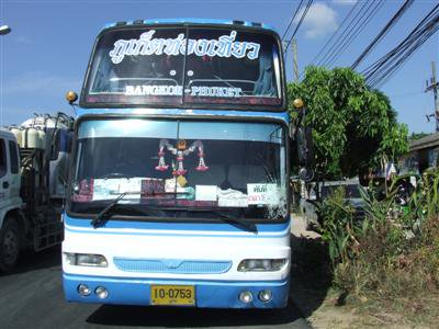 Grandmother killed in tour bus smash | The Thaiger