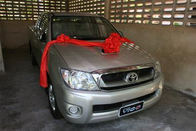 Toyota Vigo winner out there somewhere | The Thaiger