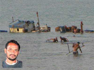 Fishing vessel salvaged after nine-day effort | The Thaiger