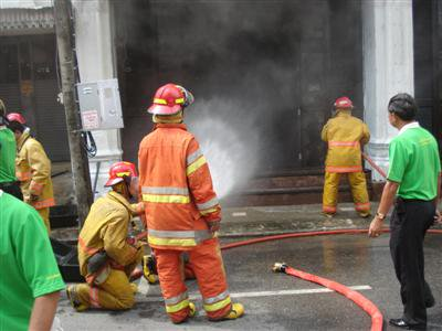 Siam Indigo damaged in Sunday morning fire | The Thaiger
