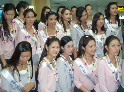 Miss Thailand Universe beauties touch down | Thaiger