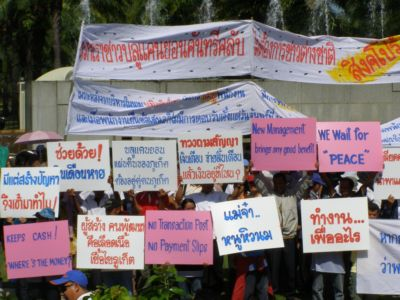 Staff protest continues at Blue Canyon | The Thaiger