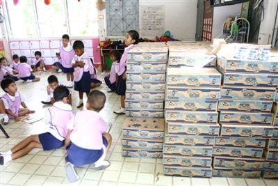 School milk below standard quality, but safe | The Thaiger