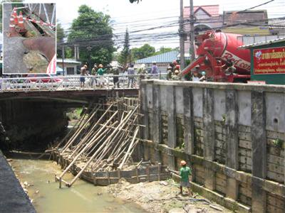 Samkong Bridge project nears completion | The Thaiger