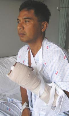 Patong politician attacked with metal bar | The Thaiger