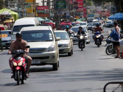 """Patong beach road to become """"clearway' 