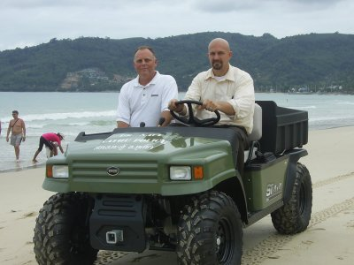 "Patong police get new ""beach busters' 