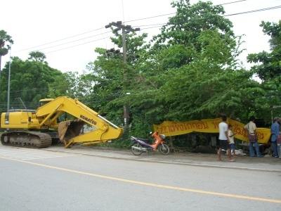 Sea gypsies halt Rawai road-widening project | The Thaiger