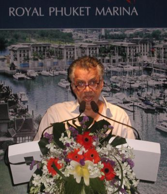 Gulu's goal: to bring mega-yachts to Phuket | The Thaiger