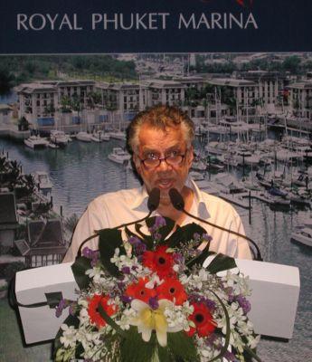 Gulu's goal: to bring mega-yachts to Phuket | The Thaiger