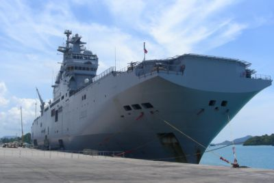 French mercy mission ship diverts to Phuket | The Thaiger