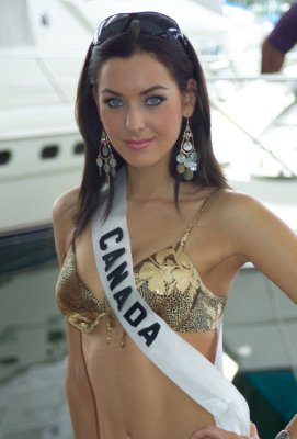 Miss Canada is Miss Universe 2005 | The Thaiger