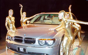 Glittering opening for car showroom | The Thaiger