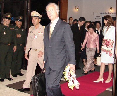 Swedish royals arrive in Phuket | The Thaiger