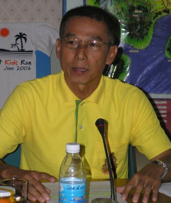 Public urged to wear yellow shirt every week | The Thaiger