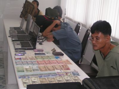 Cops nab office thief   The Thaiger